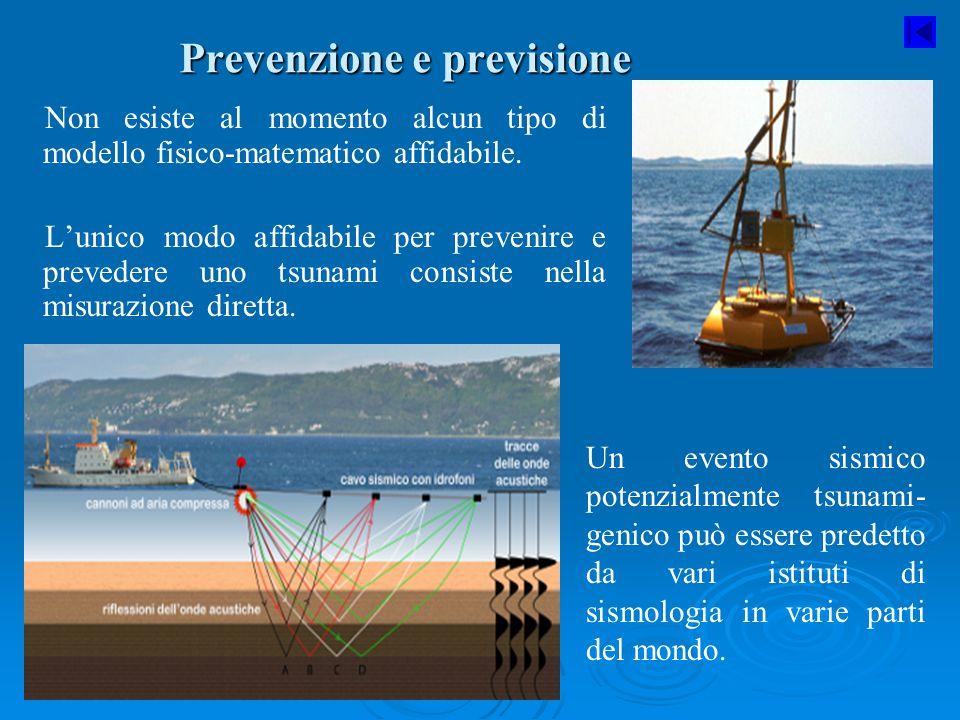 Prevenzione e previsione
