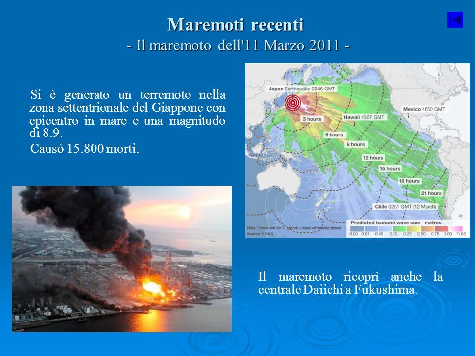 Maremoti recenti - Il maremoto dell 11 Marzo 2011 -