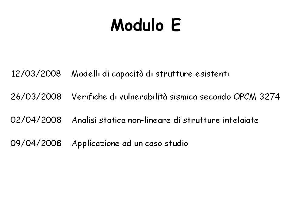 Modulo E
