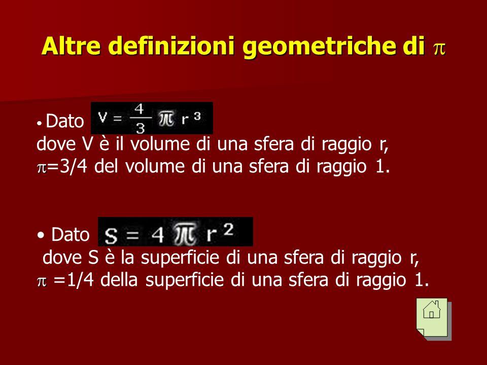 Altre definizioni geometriche di 
