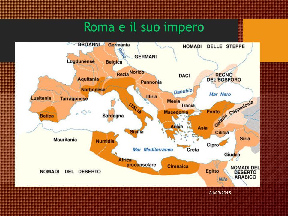 Roma e il suo impero 09/04/2017