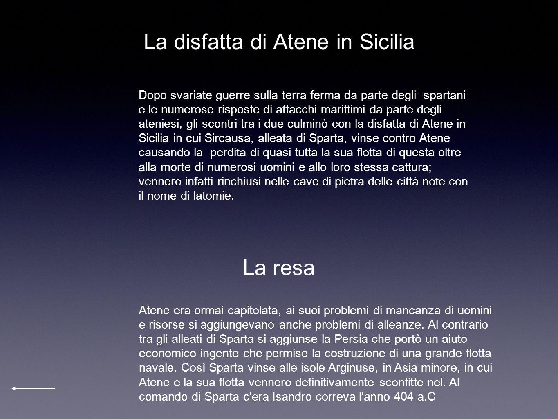 La disfatta di Atene in Sicilia