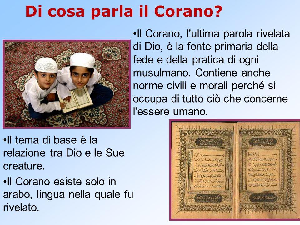 Di cosa parla il Corano