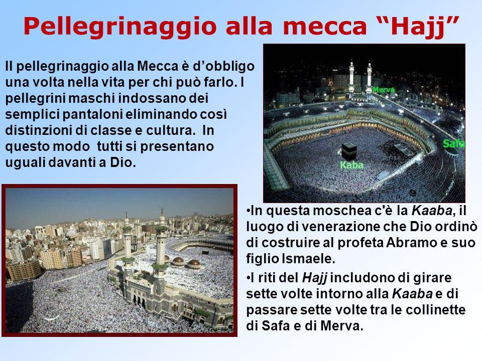 Pellegrinaggio alla mecca Hajj