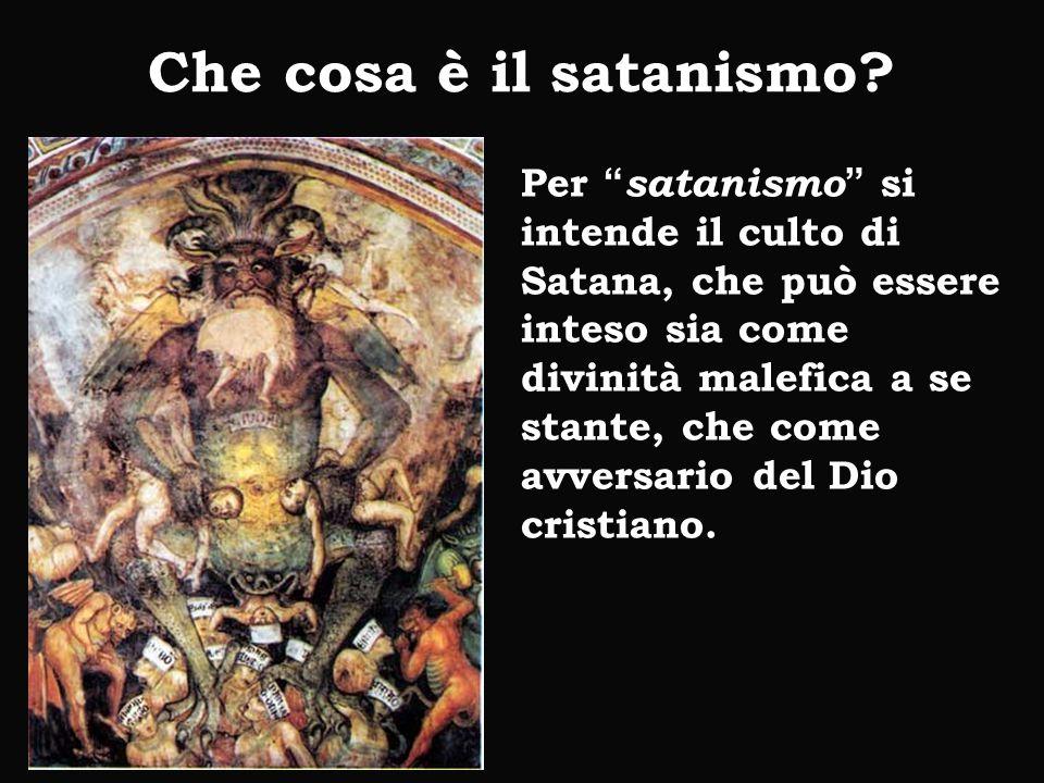 Che cosa è il satanismo