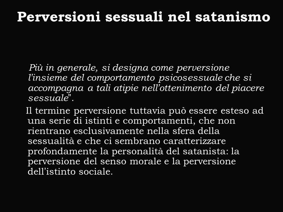 Perversioni sessuali nel satanismo