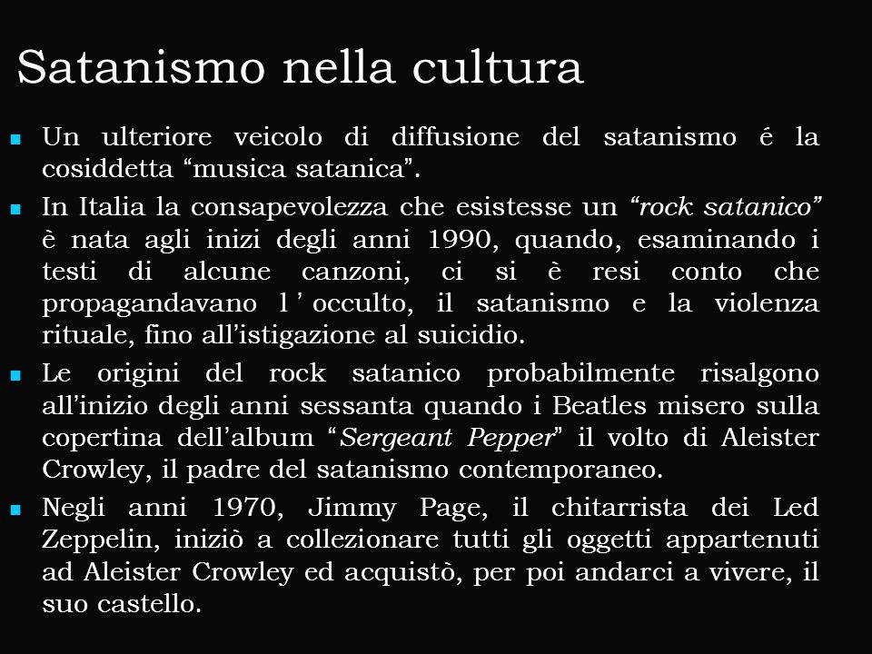 Satanismo nella cultura