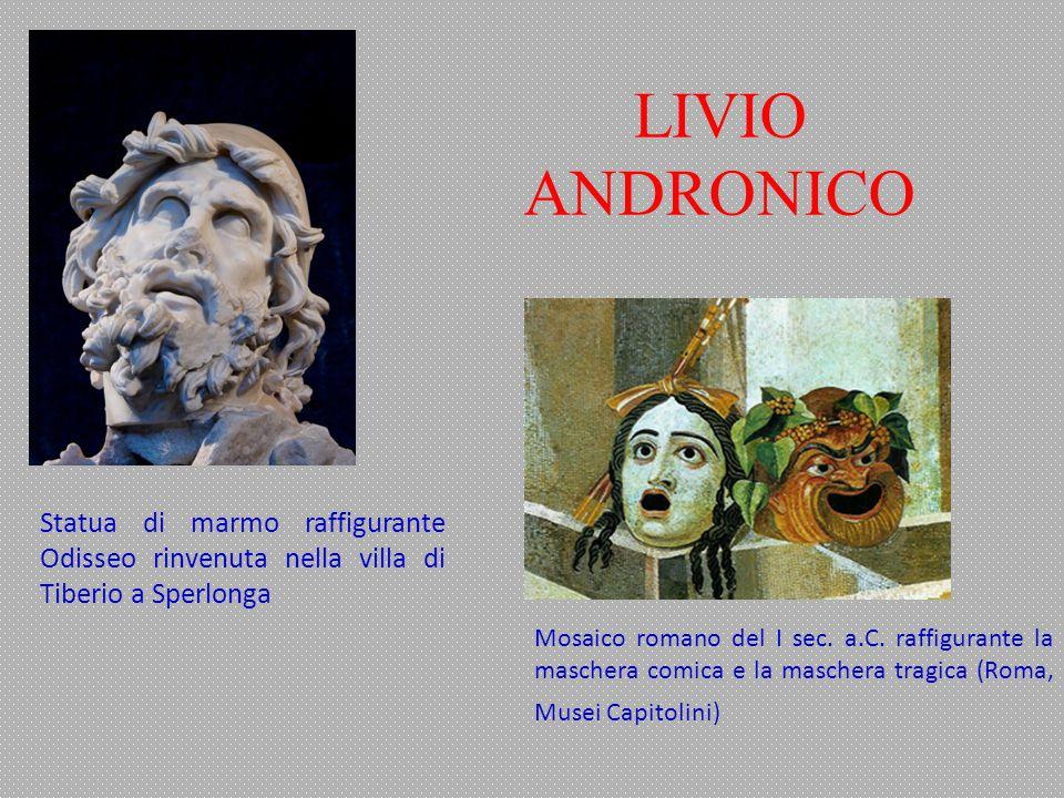 LIVIO ANDRONICO Statua di marmo raffigurante Odisseo rinvenuta nella villa di Tiberio a Sperlonga.