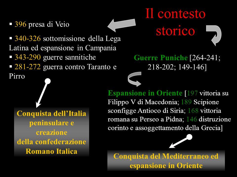 Il contesto storico 396 presa di Veio