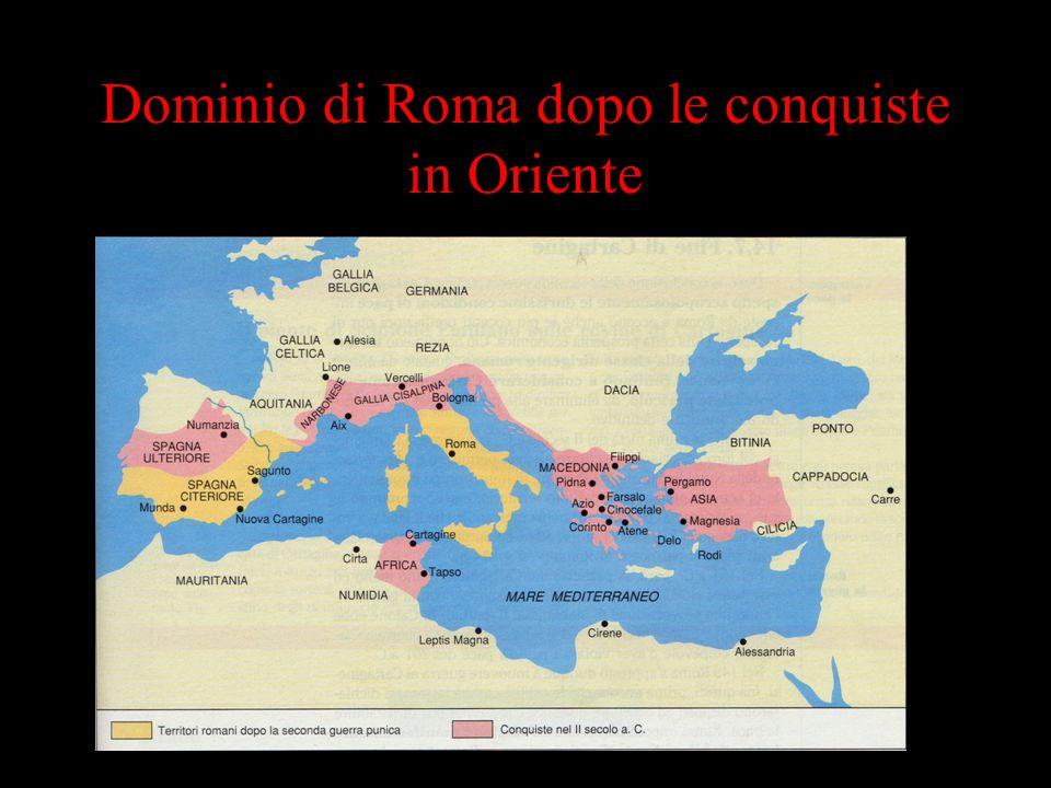 Dominio di Roma dopo le conquiste in Oriente