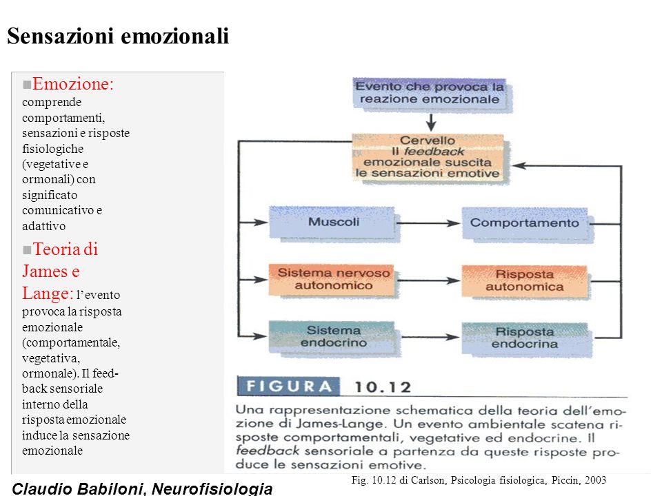 Sensazioni emozionali