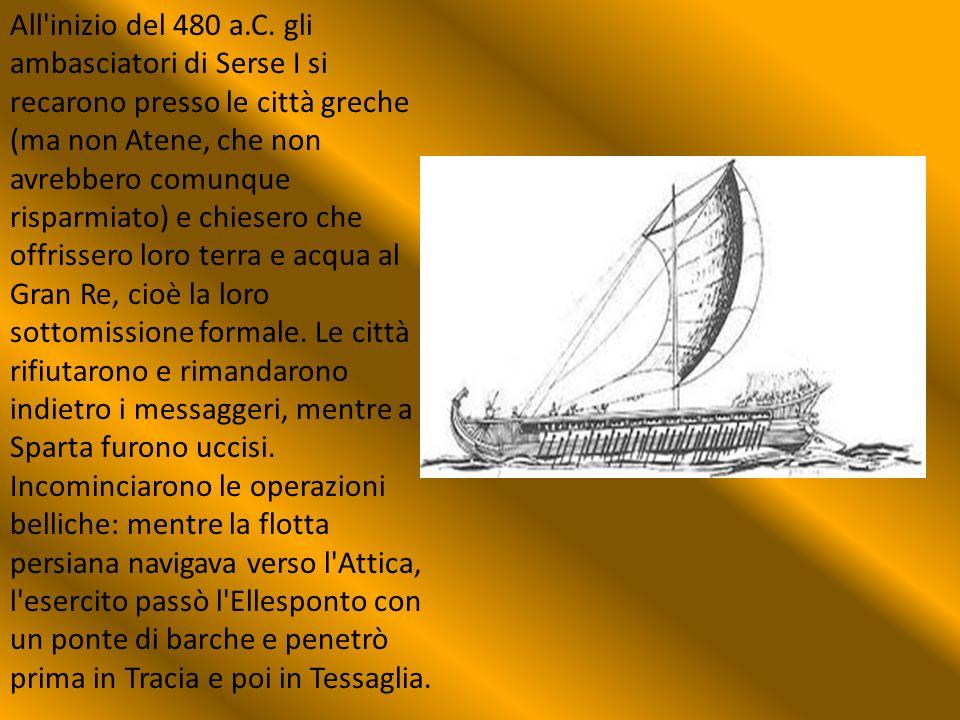 All inizio del 480 a.C.