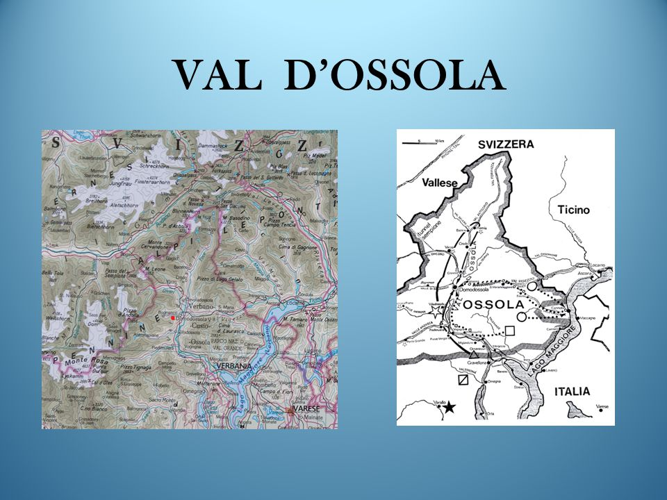 VAL D'OSSOLA