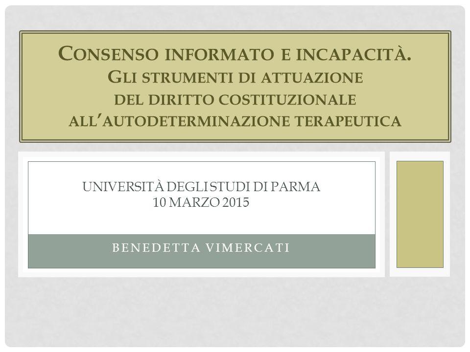 Università degli studi di parma 10 marzo 2015