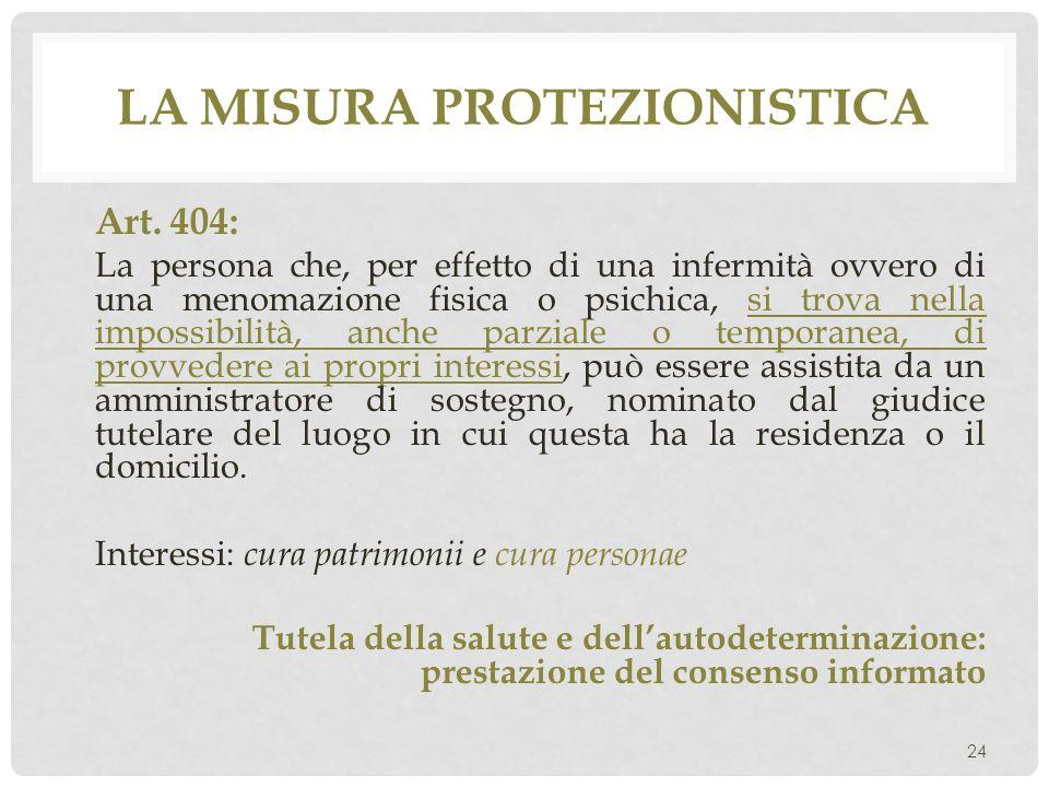 La misura protezionistica