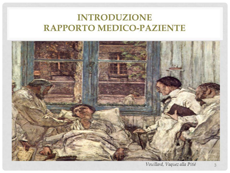 Introduzione rapporto medico-paziente