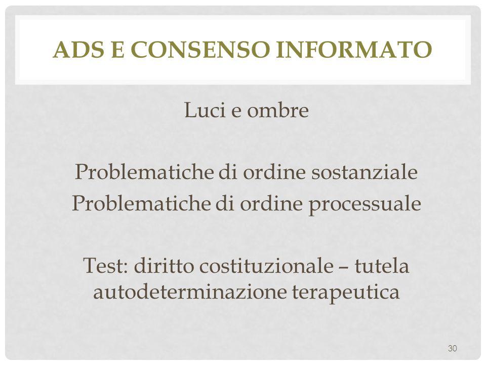 Ads e consenso informato
