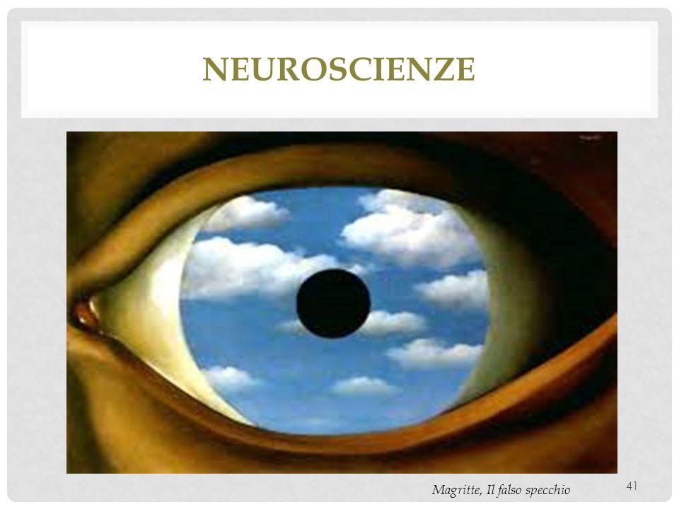 neuroscienze Magritte, Il falso specchio