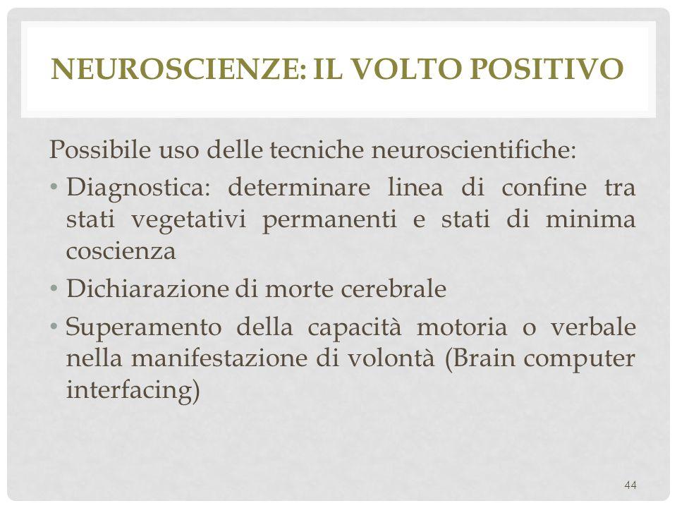 Neuroscienze: il volto positivo