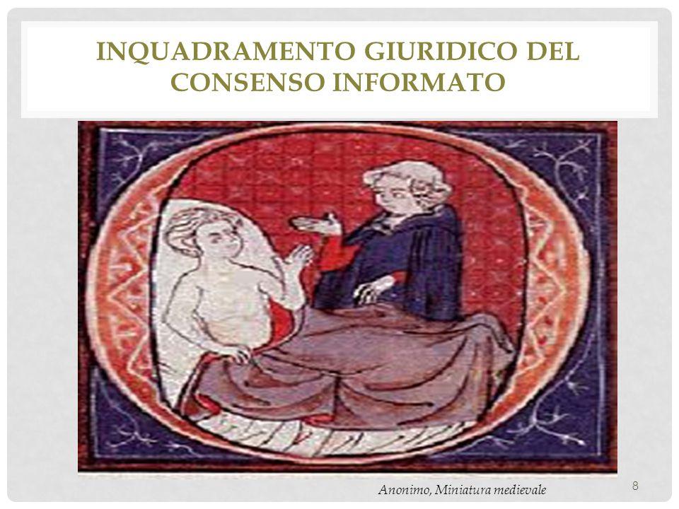 inquadramento giuridico del consenso informato