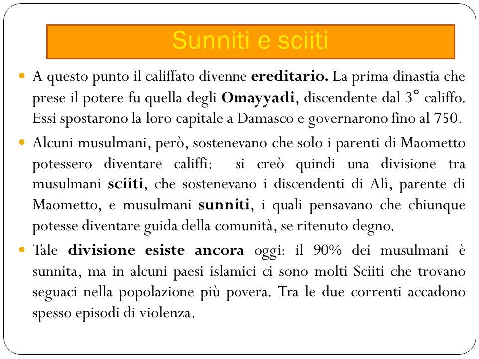 Sunniti e sciiti