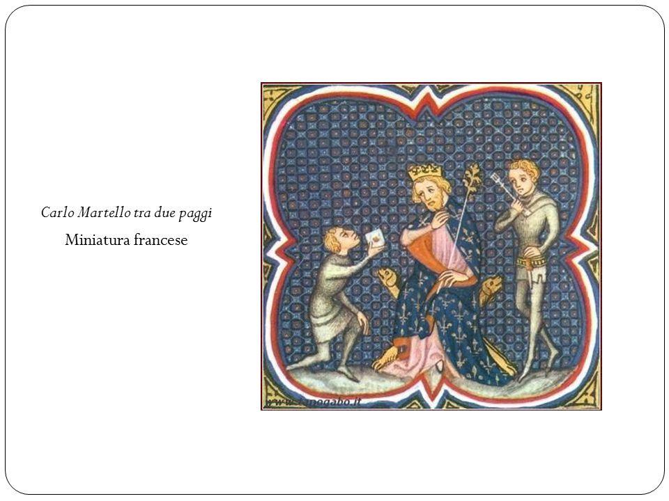 Carlo Martello tra due paggi