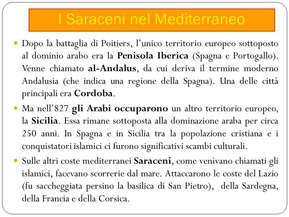 I Saraceni nel Mediterraneo