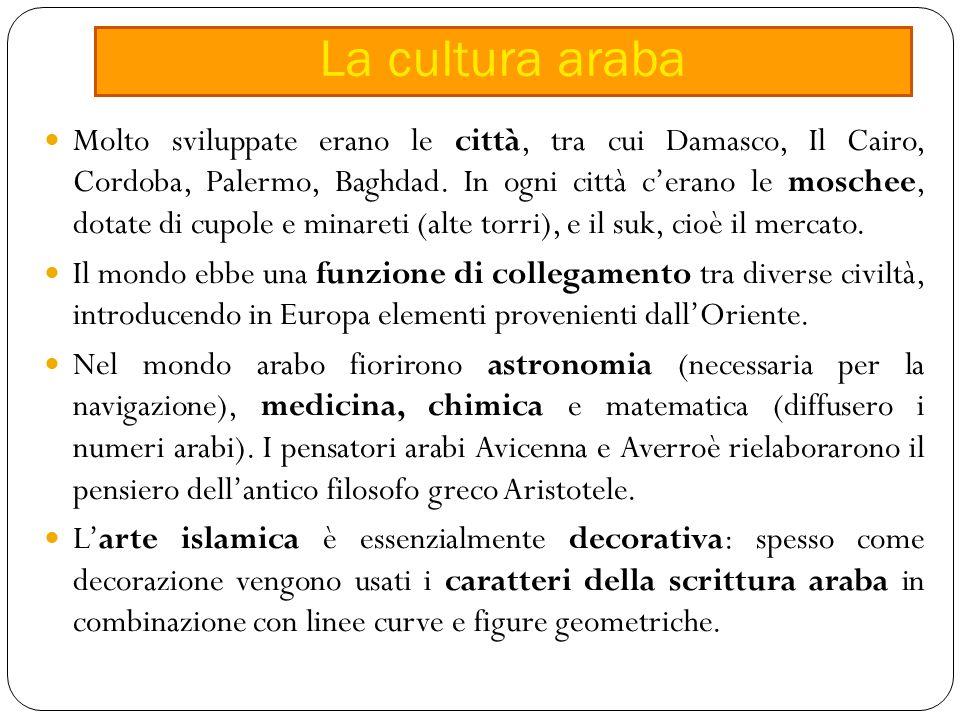 La cultura araba