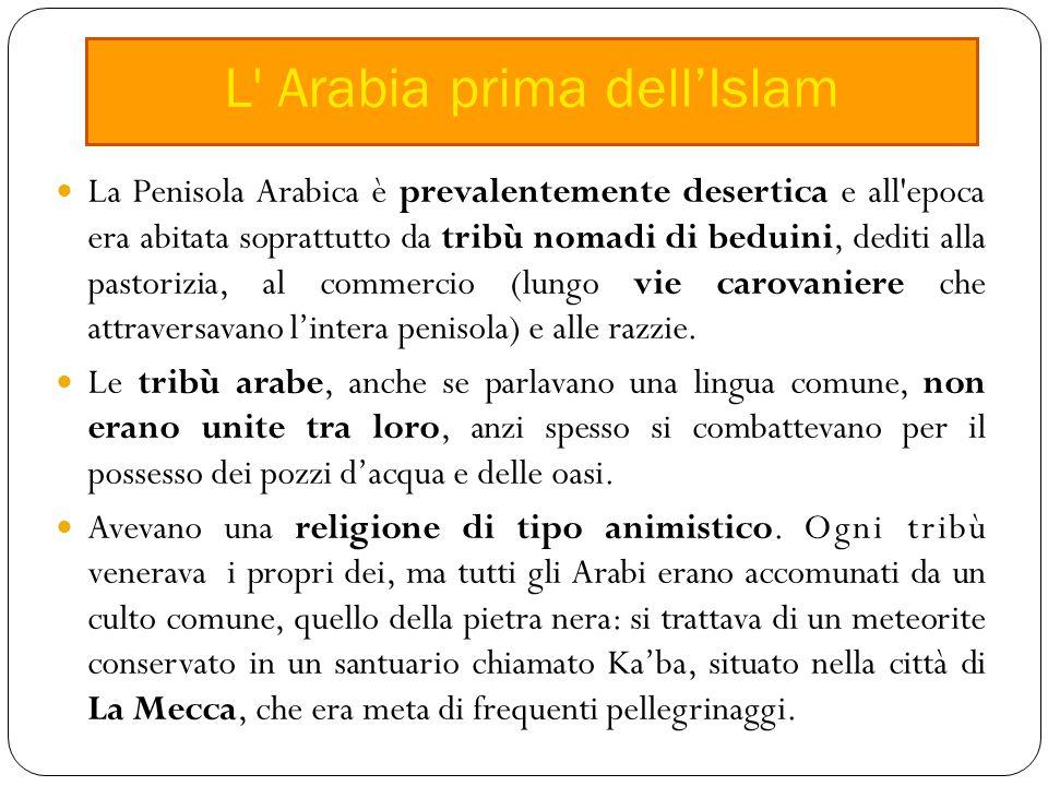 L Arabia prima dell'Islam