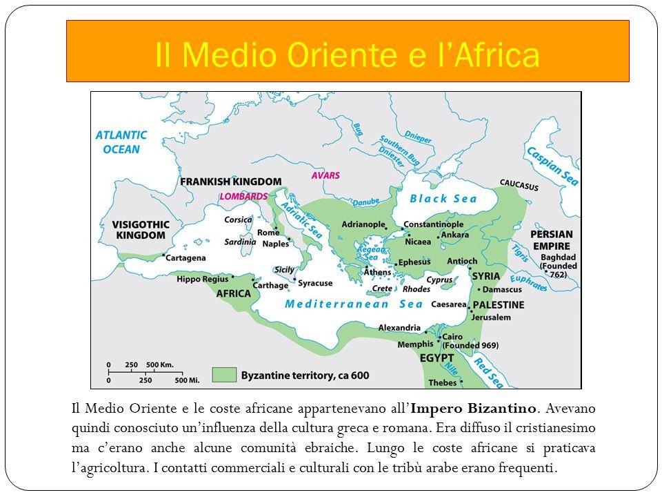 Il Medio Oriente e l'Africa