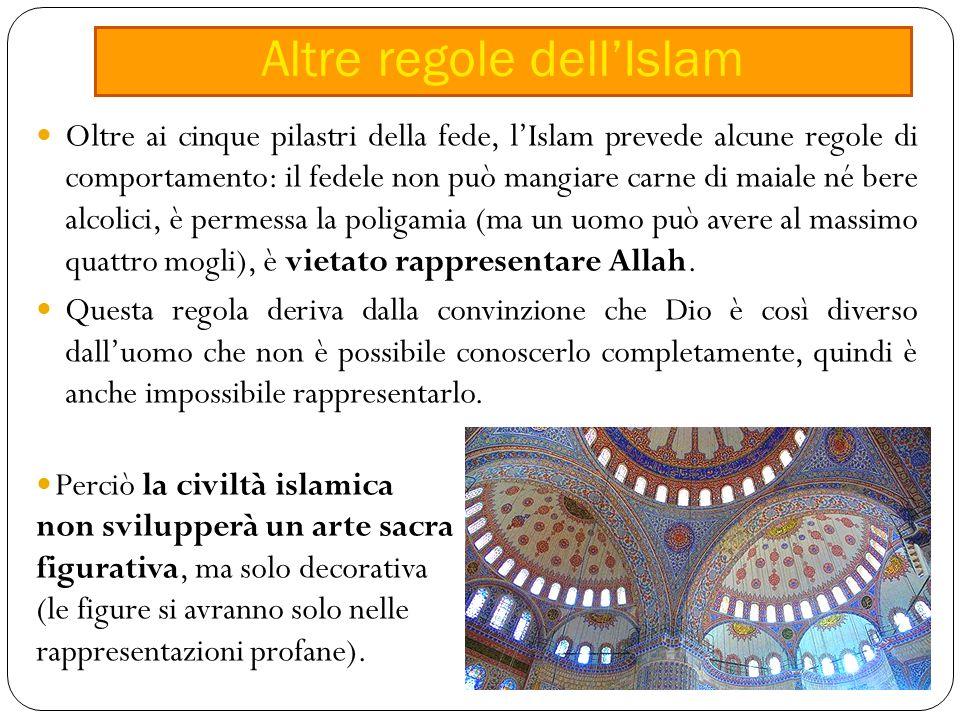 Altre regole dell'Islam