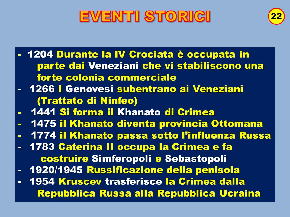 EVENTI STORICI - 1204 Durante la IV Crociata è occupata in