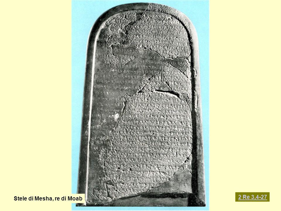Stele di Mesha, re di Moab
