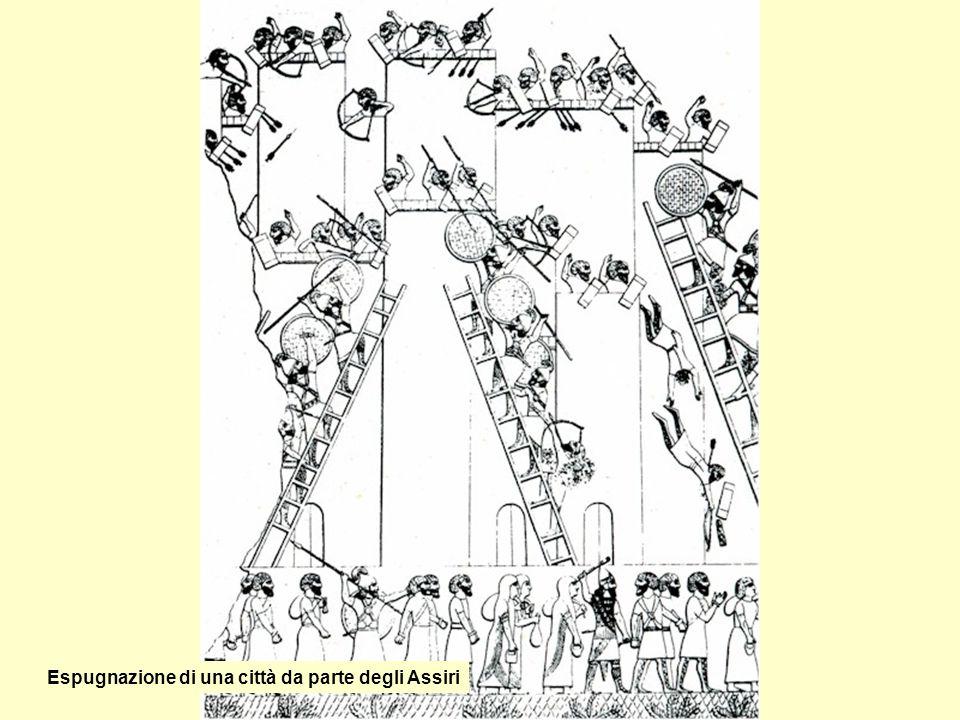 Espugnazione di una città da parte degli Assiri