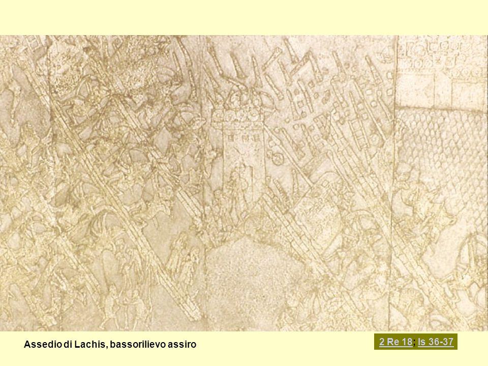 Assedio di Lachis, bassorilievo assiro