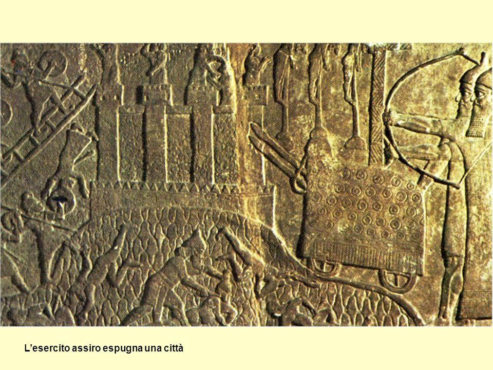 L'esercito assiro espugna una città