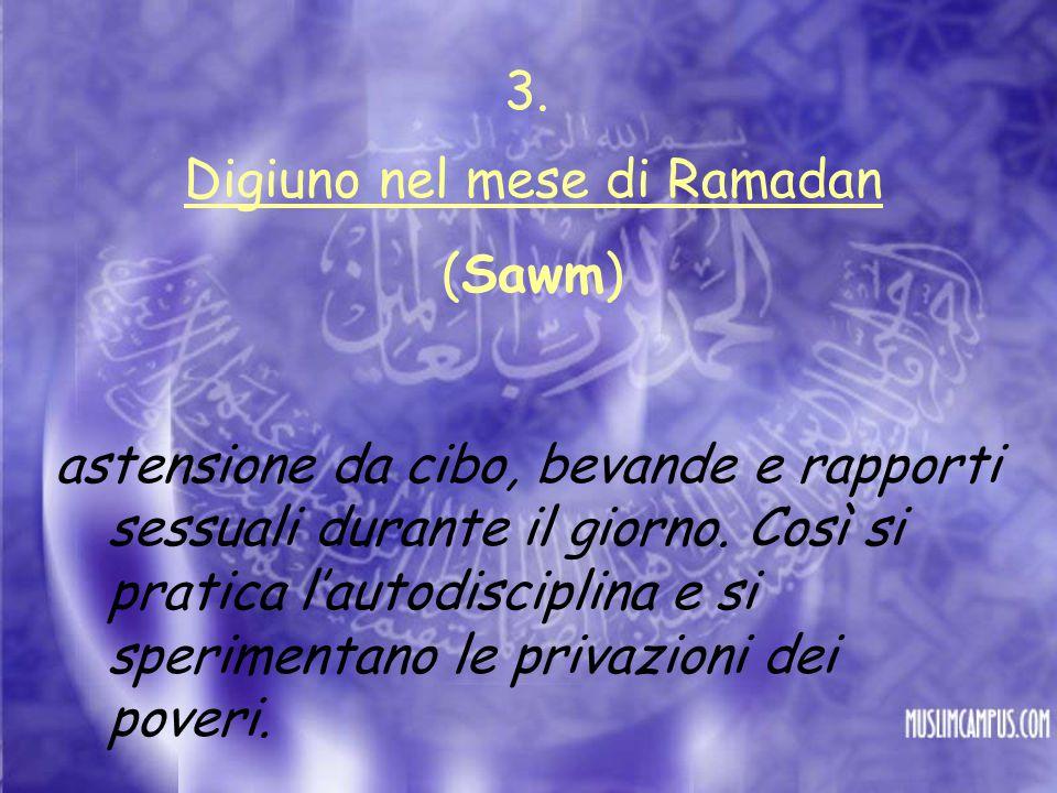 Digiuno nel mese di Ramadan