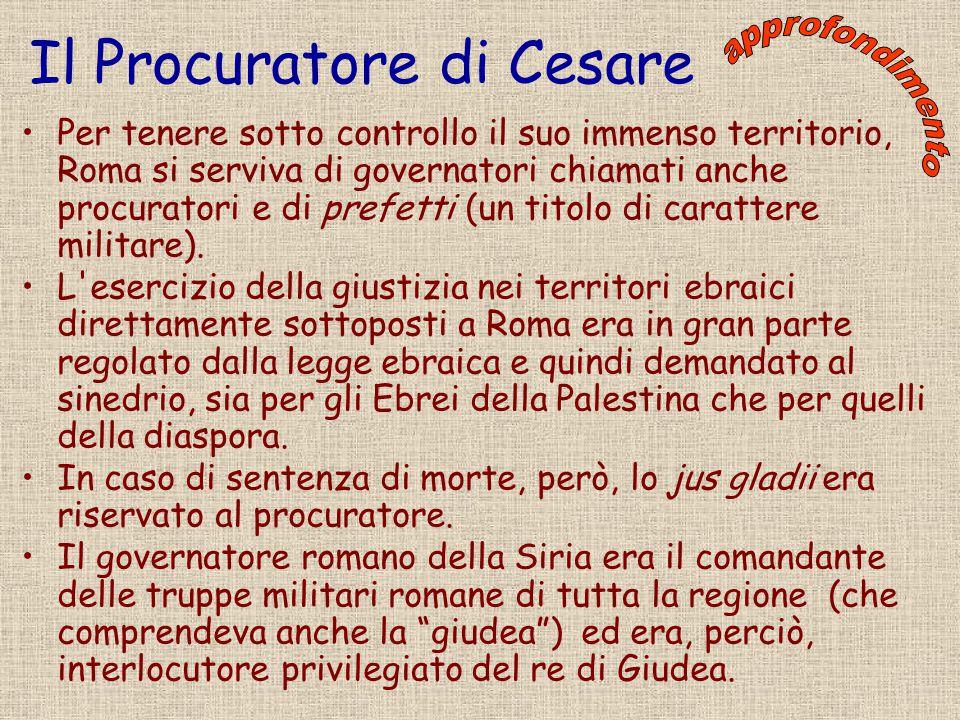 Il Procuratore di Cesare