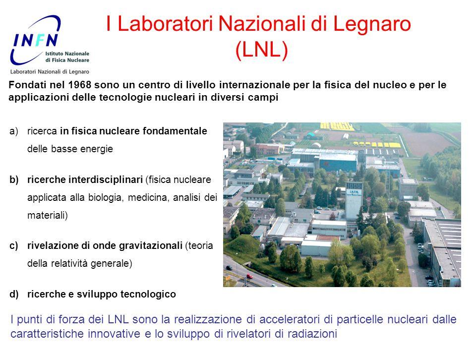 I Laboratori Nazionali di Legnaro (LNL)