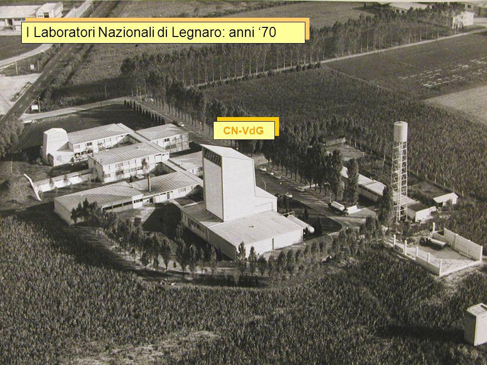 I Laboratori Nazionali di Legnaro: anni '70