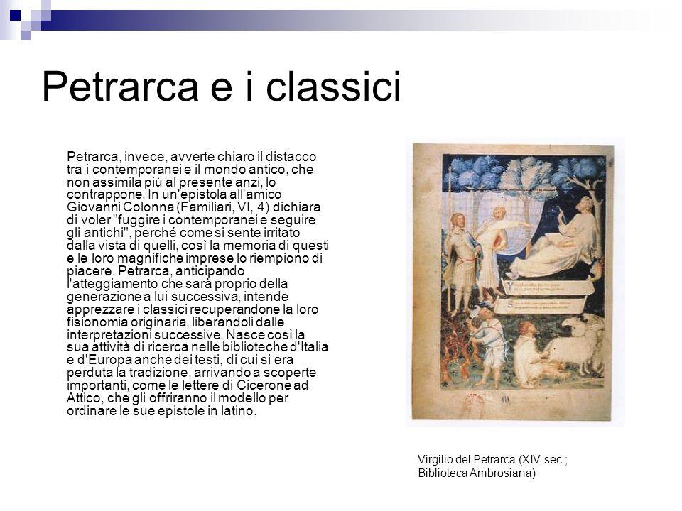 Petrarca e i classici