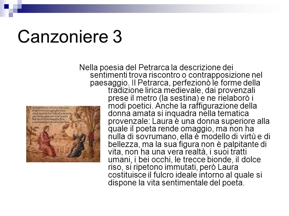 Canzoniere 3