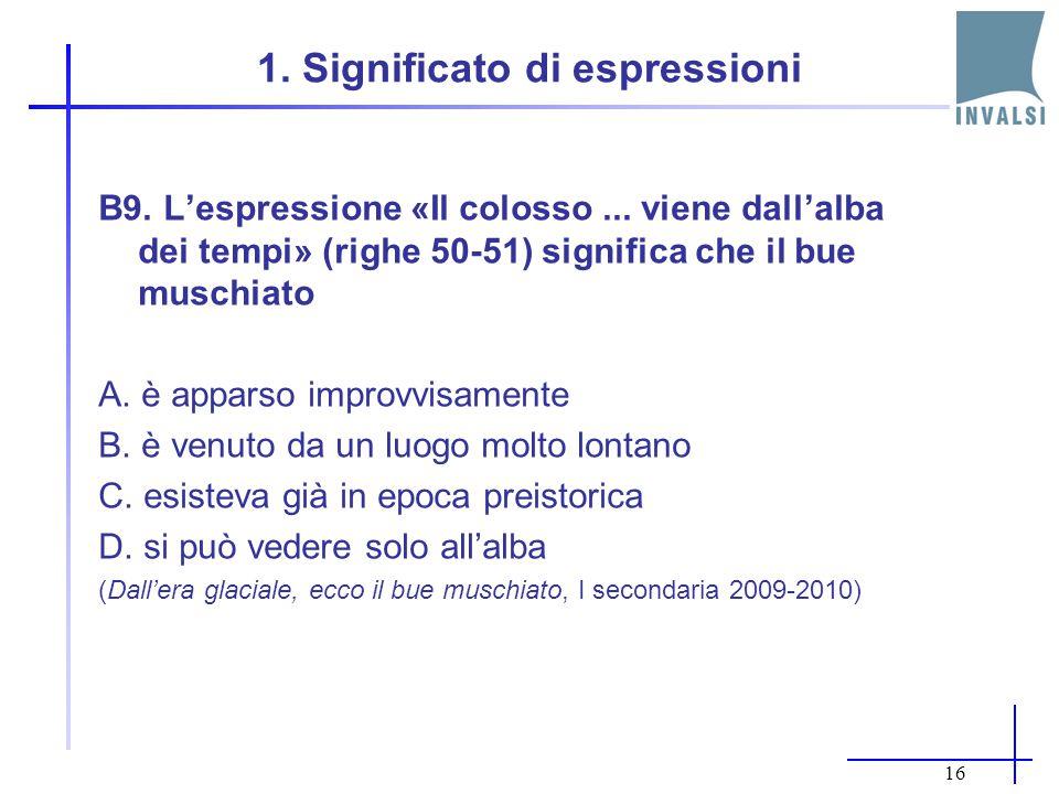 1. Significato di espressioni