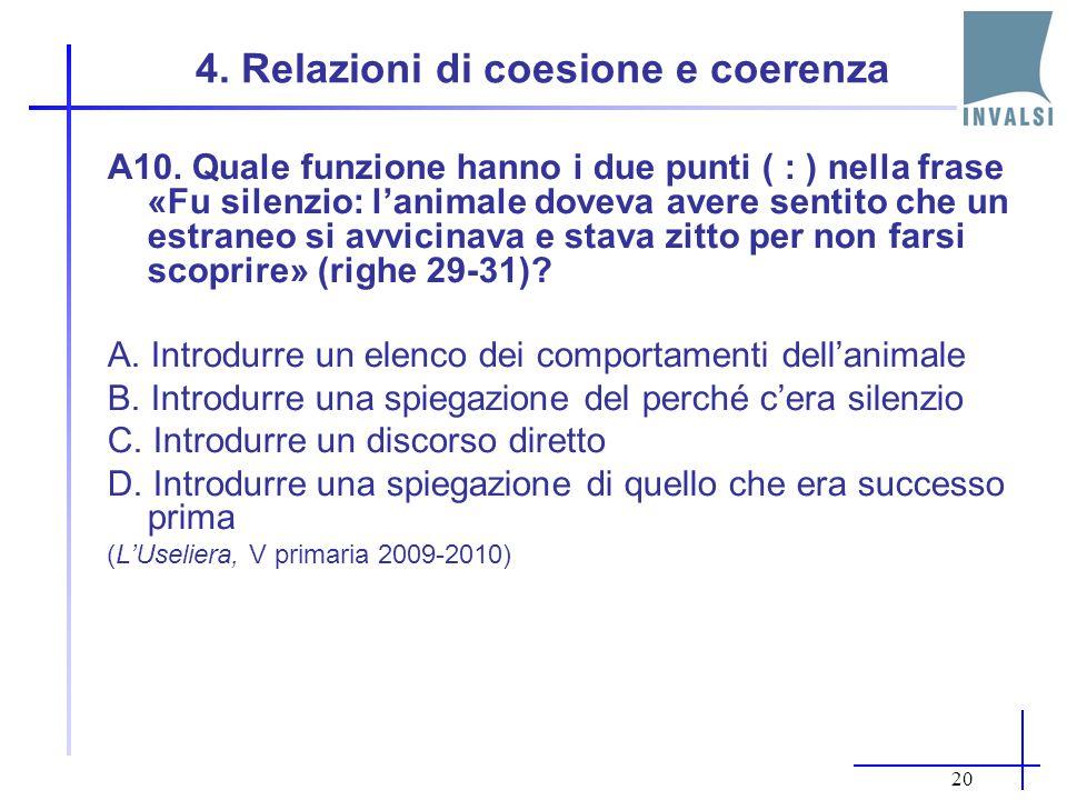 4. Relazioni di coesione e coerenza