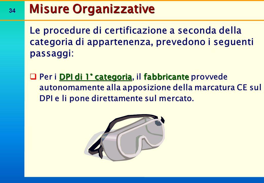 Misure Organizzative MARCATURA CE