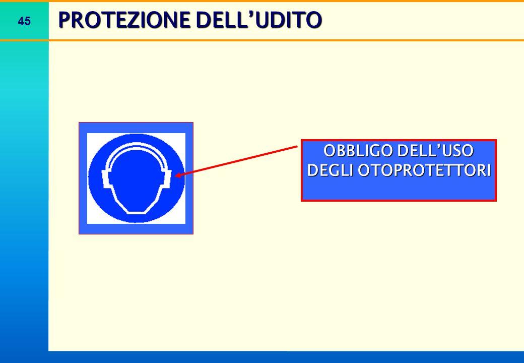 PROTEZIONE DELL'UDITO