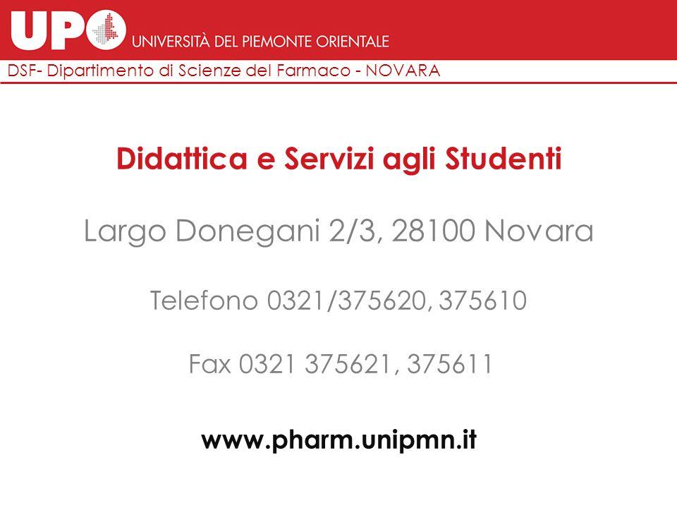 Largo Donegani 2/3, Novara