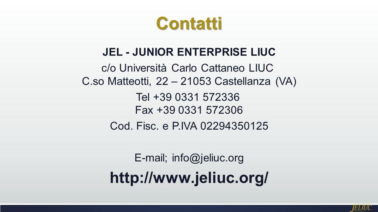 JEL - JUNIOR ENTERPRISE LIUC