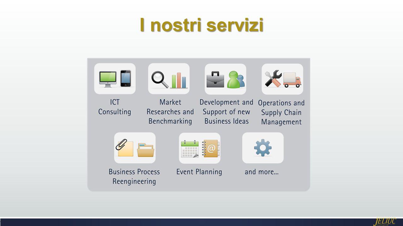 I nostri servizi Potrebbe essere necessaria più di una diapositiva
