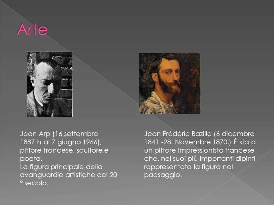 Arte Jean Arp (16 settembre 1887th al 7 giugno 1966), pittore francese, scultore e poeta.